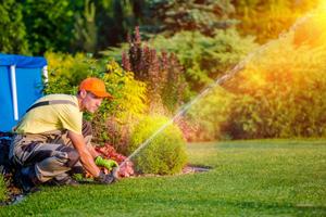 sprinkler repair and installs